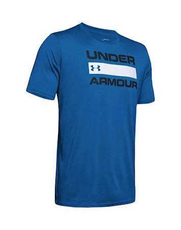 Under Armour UA TEAM ISS T-shirt Blå Herre