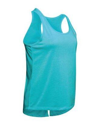 Under Armour UA Whisperlight T-shirts Turkisblå Dame