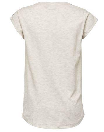 Tilbud kun 149,00 DKK | Hummel T shirt Ebony T shirt Hvid Pige