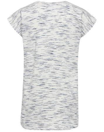 Hummel T shirt HMLLimba T shirt SS Hvid Lyserød Pige