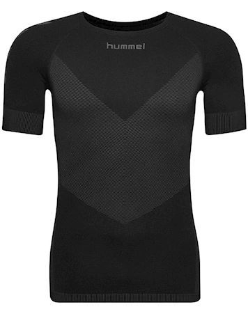 Hummel Undertrøje First Seamless Jersey S/S Sort  Herre
