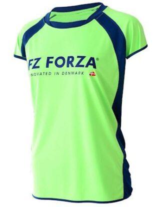 Forza badmintontrøje Tiley grøn dame