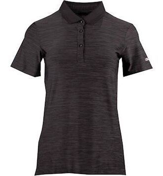 CMP Stretch Melange Polo Sort Dame