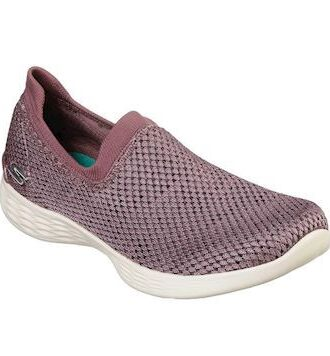 Skechers You Define - Allegra SKO Mauve Dame