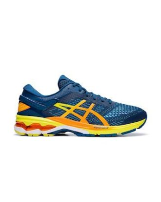 Asics Gel-Kayano 26 Løbesko Blå-Orange-Gul Herre