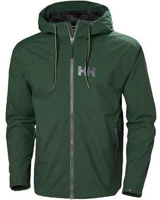 Helly Hansen Regnjakke Rigging Rain Jacket Grøn Herre