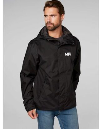 Helly Hansen Jakke Ervik Jacket Sort Herre