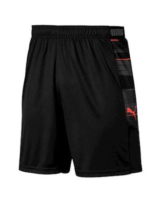 Puma ftblNXT Graphic  Shorts Sort-Grå-rød Herre