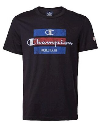Champion Crewneck T-shirt Sort Herre