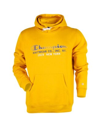 Champion Hooded Sweatshirt Trøjer Gul Herre