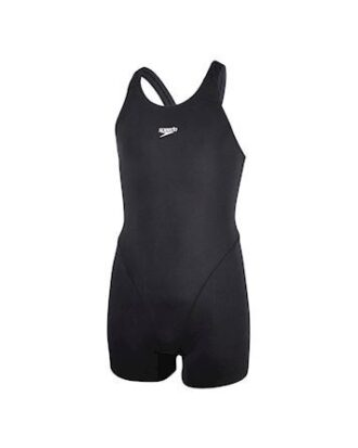 Speedo Essential Endurant Badedragt Sort Pige