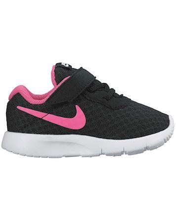 Nike Børnesko Tanjun TDV Sort-Pink Pige