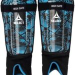 Select Benskinne Shin Guard High Safe Sort-Blå Unisex