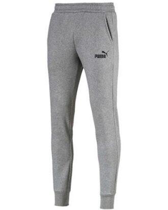 Puma Sweatpants ESS Logo Pants FL cl Grå Herre