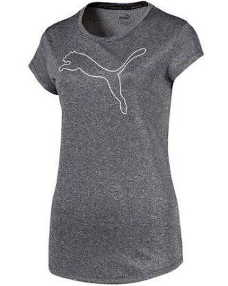 Puma T-shirt Active Heather Tee Grå Dame