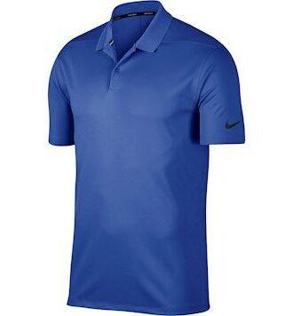 Nike Dry Victory Golf Polo T-shirt Blå Herre