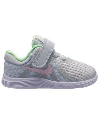 Nike Sko Revolution 4 (TDV) Grå-Lyserød Børn