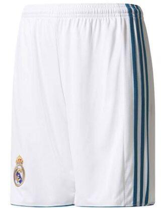 Adidas Shorts Real H SHO Y Hvid-Aqua Grøn Børn