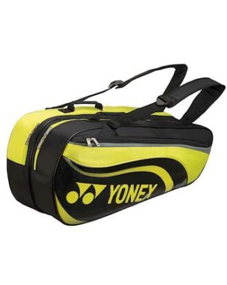 Yonex Taske Racquet Bag - 6 stk. Sort-Lime Unisex