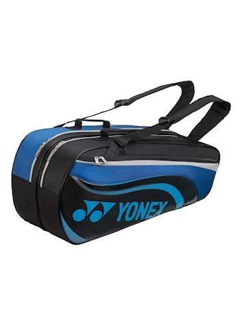 Yonex Taske Racquet Bag - 6 stk. Sort-Blå Unisex