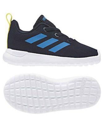Adidas Børnesko Lite Racer blå dreng