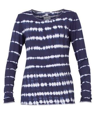 Blue Sille l/s navy dame