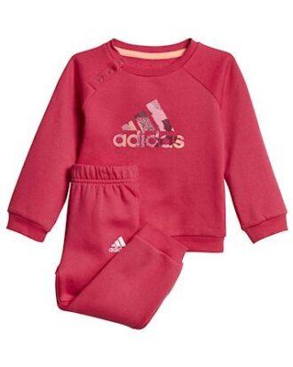 Adidas Børnejoggingdragt I SP Logo jogger pink børn