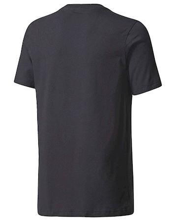 Adidas t-shirt YB SID Tee Sort-Hvid Børn 1