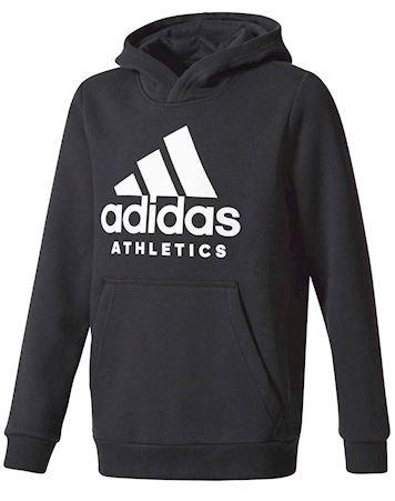 Adidas Hoodie YB SID Hoodie Sort-Hvid Børn