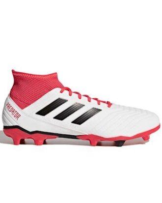 Adidas Fodboldstøvler Predator 18.3 FG Hvid-Rød Unisex