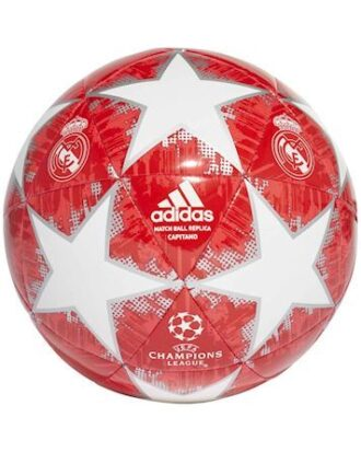 Adidas Fodbold Finale 18RM CPT Rød-Hvid Unisex