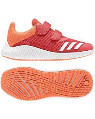 Adidas Børnesko FortaRun CF K Orange-Hvid Børn