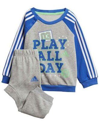 Adidas Babyjogger I Graph Jogg FT Blå-Grå Dreng