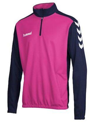 Hummel Træningstrøje Core Zip Pink Junior