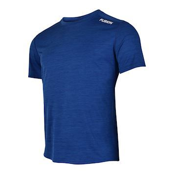 Fusion C3 T-shirt Blåmelange Dame