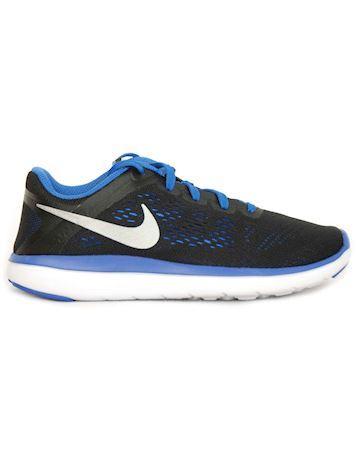 Nike Flex 2016 RN (GS) sneakers sortblå junior
