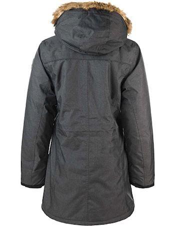 Whistler Vinterjakke Herne Melange Parka W-Pro 10000 Mørkegrå Dame 1