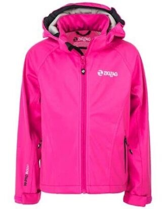 Zigzag Jakke Grand Lake Stretch Softshell W-Pro 8000 Pink Pige