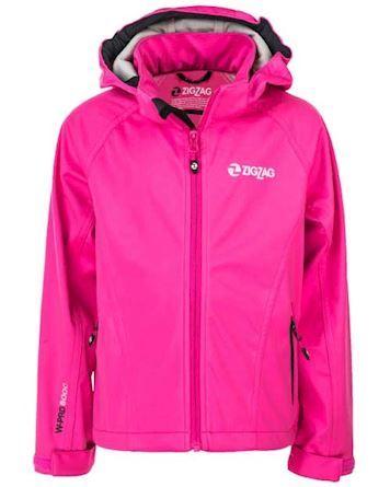 Zigzag Jakke Grand Lake Stretch Softshell W-Pro 8000 Pink Pige