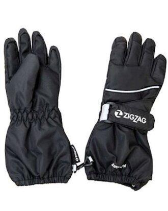 ZigZag Handsker Kempston Glove w/dropliner Sort Børn