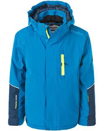 ZigZag Skijakke Pateros Ski Jacket W-Pro 10000 Blå Dreng