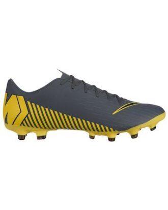 Nike Fodboldstøvler Vapor 12 Academy FG-MG Grå-Gul Unisex