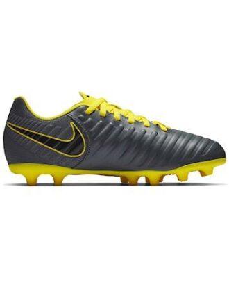 Nike Fodboldstøvler Jr Legend 7 Club FG Grå-Gul Børn