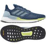 Adidas Løbesko Solar Boost M Blå-Lime Herre