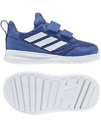 Adidas Fritidssko AltaRun CF I Blå-Hvid Dreng
