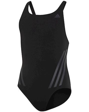 Adidas Badedragt Pro Suit 3S Y Sort-Grå Pige
