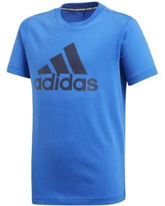 Adidas T-shirt YB MH Bos T Blå-Sort Børn
