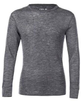 Mols Uld undertøj Cornell Wool top  Grå  Herre