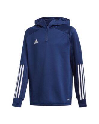 Adidas Con20 TK Hood Y Trøjer Blå Børn