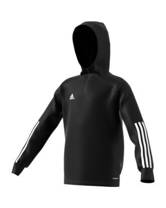 Adidas Con20 TK Hood Y Trøjer Sort Børn